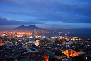 PHOTO: 'Bay of Naples' posted on www.freeimages.com by user krzysiuc.