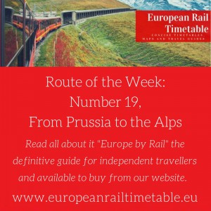 Route of the Week general info - Route 19 - From Prussia to the Alps