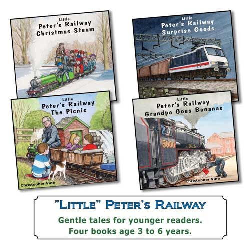 Little Peter's Railway <br> Bundle of 4 Paperback books