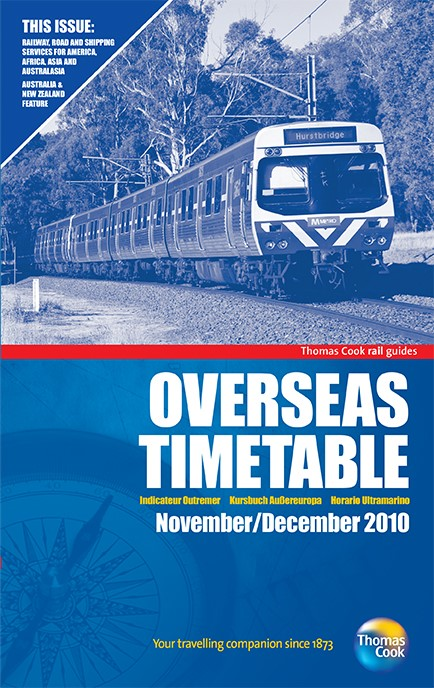 Thomas Cook Overseas Timetable 2010 (REPRINT.)